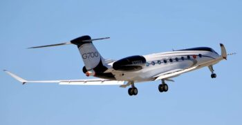 Gulfstream G700 First flight